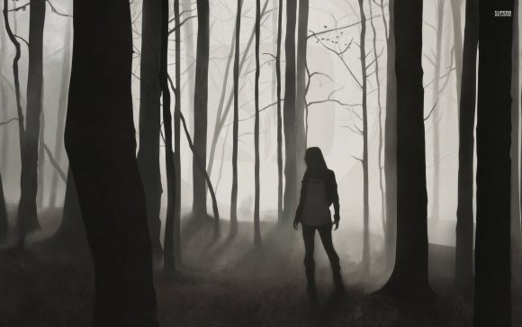 Lost Girl in Dark Forest